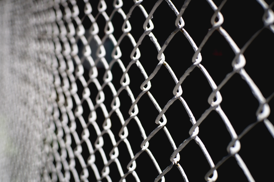 Chain link fencing in Wheeling, Illinois